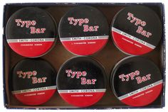 One of these Type Bar ribbon tins could be yours at
