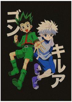Manga Anime, Got Anime, Anime Art, Hunter Anime, Hunter X Hunter, Killua, Hxh Characters, Japon Illustration, Manga Covers