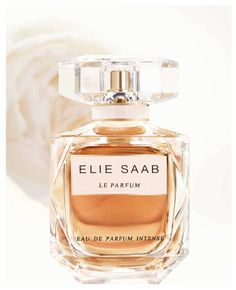 The Eau de Parfum Intense is the third and newest version of the Elie Saab's fragrance. Perfumer Francis Kurkdjian created this collection so that every part of it (every version of the perfume) depicts a period of daylight. Perfume Display, Perfume Tray, Perfume Bottles, Elie Saab, Ariana Grande Perfume, Perfume Organization, Mena Suvari, Francis Kurkdjian, Sharon Stone