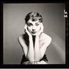 Audrey Hepburn photographed by Richard Avedon, NYC ,1953