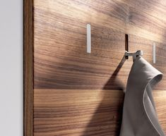 Wall Panel with Coat Rack: Remodelista