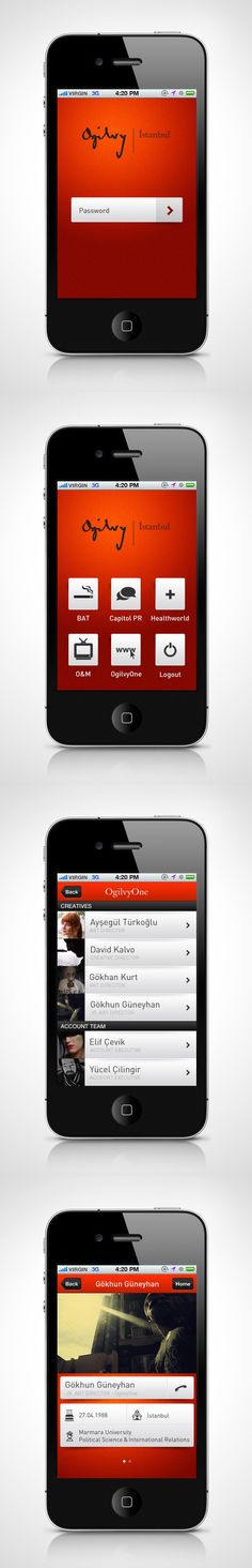 "Ogilvy Istambul - ""A people index which lets people connect with the collegues on the social networks or text & call."""