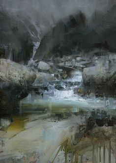 After the Rain. Oil, 12 x 18 in. Tibor Nagy