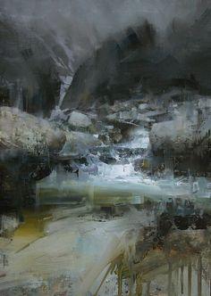 After the Rain. Oil, 12 x 18 in. Tibor Nagy