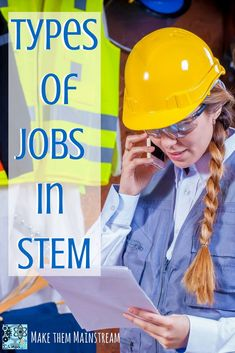 You know you want a in but you aren't sure on what kinds of jobs there are. That is understandable, its hard to know what types of careers there are in STEM. This article will give you a little bit on insight on some STEM jobs you may not ha Preschool Jobs, Kindergarten Stem, Stem Bulletin Boards, Stem Teacher, Stem Curriculum, Stem Careers, Stem For Kids, Stem Learning