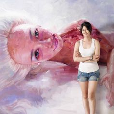 Peihang Huang, Taiwanese young artist, talented and pretty Best Crypto, Barbie Dolls, Pop Culture, Pop Art, Art Drawings, Vibrant, Bright, History, Illustration