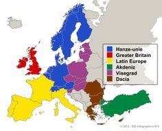 Toekomst EU? De Hanze Unie!