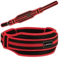 MS-1-605, Neoprene Weightlifting Belt. 5 inches Wide Ultra-Light Nylon Belt with Reinforced Back Support For Maximum Protection and Stability. Double Belt, Heavy Duty System, with High-End Materials For Maximum Durability And Performance. Reinforced Core With Easy-Tensioning, Heavy-Duty, Stainless Steel Slide Bar Loop Buckle. Flexible, Breathable and Extremely Light-Weight Design For Maximum Comfort and Versatility. Perfect for Cross fit, Power lifting, Bodybuilding and Weight Lifting.