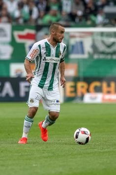 Steffen Hofmann of Rapid in action during an friendly match between SK Rapid Vienna and Chelsea F.C. at Allianz Stadion on July 16, 2016 in Vienna, Austria.