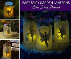 DIY Fairy Garden Lanterns