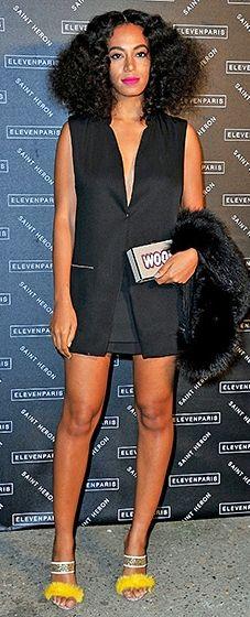 Solange Knowles: Paris Fashion Week 2015