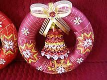 Dekorácie - Vianočný veniec - 4494459_