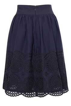 Lady Solitude Flared Skirt - Skirts - French Connection