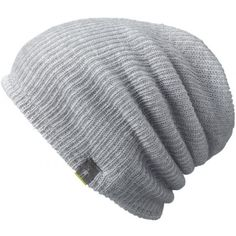 8a0a9445b6886 Take a look at this Light Gray Heather Slouch Reversible Merino-Blend Beanie  - Adult on zulily today!