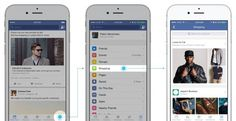 Shopping-Bereich direkt in den Favoriten von Facebook (Quelle: Facebook)