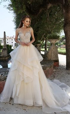 Courtesy of Ashley and Justin wedding dresses; www.ashleyjustinbride.com