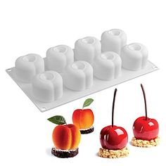 Fiesta SILIKOLOVE 3D Fruit Series Cake Molds Silione Mold for Baking Mousse Dessert Cakes Decorations Mould Bakeware Tools: 29.5x17x4.5 CM ... (This is an affiliate link) #candymakingsupplies Candy Making Supplies, Mousse Dessert, Cake Mold, Bakeware, Cake Decorating, Decorations, Cakes, Tools, 3d