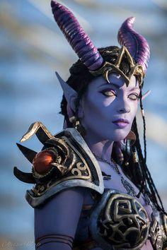 Draenei, Warcraft, by Ivycosplay.