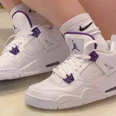 Cute Jordans, Air Jordans, Cute Sneakers, Cute Shoes, Aesthetic Shoes, Fresh Shoes, Jordan 4, Sneakers Fashion, Kicks