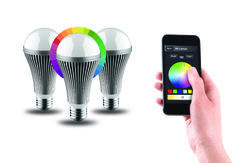 Luxxus by NIKKEI, app-controlled smart lighting system.