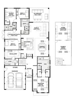 check out the beautiful #vienna display home's #floorplan here. a