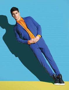 Frederik Larsen August Man 2015 Fashion Editorial 005 Frederik Larsen Celebrates Summer with Fun August Man Editorial