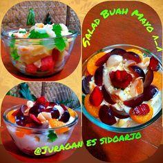 new salad buad @juragan es sidoarjo.