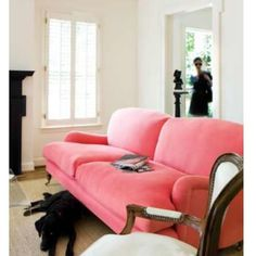 Love this sofa? I have a great source for it on the blog today! by elementstyle