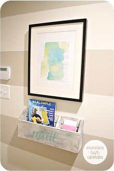 Mail organizer do it yourself home projects from ana white mail organizer a modified version of the numbered cubbies diy projects solutioingenieria Choice Image