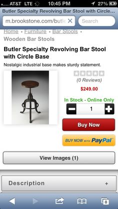 Nice stool for the kitchen