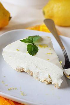 Suklaapossu: Järisyttävän hyvä sitruuna-juustokakku / ilman lii...