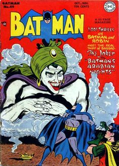 Remember When: Batman and Robin Went Back in Time to Stop Joker in Bagdad? - Batman and Robin - Comic Vine Joker Batman, Real Batman, Batman Comics, Batman And Superman, Batman Room, Joker Comic, Batman Poster, Robin Comics, Dc Comics Art