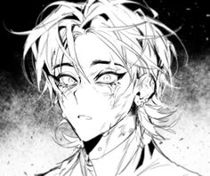 black and white anime kunst