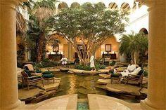 Patio Furniture--island patio