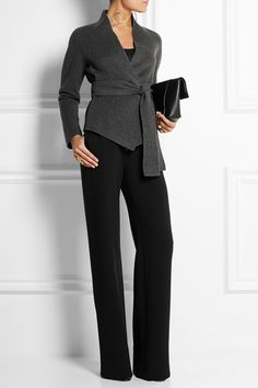 Donna Karan New York | Belted cashmere jacket | NET-A-PORTER.COM