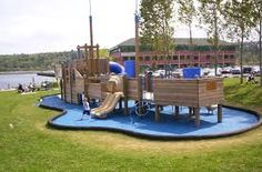 Like one of the play structure aspects here.