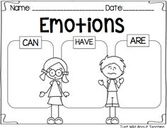 Just Wild About Teaching :All About Emotions - Health Pack