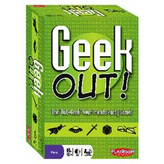 Geek Out!™ is the outrageous game that finds out once and for all which player is the most knowledgeable about your favorite pop culture sub...
