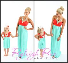 Mommy daughter dresses~ must have!