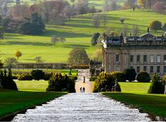 Chatsworth House Gardens by kev747, via Flickr