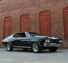 Owning a classic Chevelle is one of my life's dreams, ok?