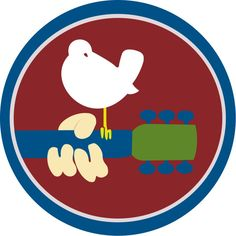 Woodstock 1969 logo vector by ~ButtSurgeon on deviantART