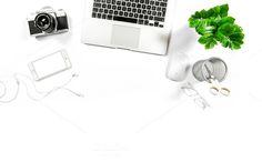 Office desk Hero header by LiliGraphie on @creativemarket