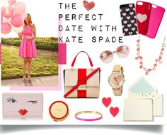 """""""THE PERFECT DATE WITH KATE SPADE"""" by juliefox1999 on Polyvore"""