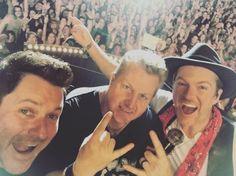 Concert selfie!