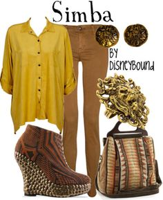 My new favorite website of all time - I'd love to dress like Simba, thanks :)