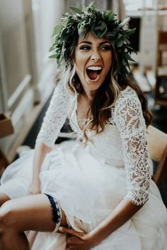 Carly and DJ's Callanwolde Fine Arts Center wedding meshes bohemian and classic vibes. Sarah Joy Photo shot for Melissa Prosser Photography.