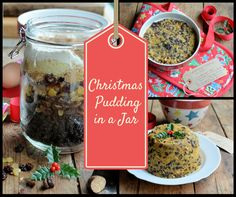 Christmas Pudding in a Jar by Karen Burns-Booth