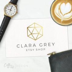 Premade Logo Design for Creatives  Branding von CoffeeandInkDesign
