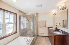 Bathroom- Weston model home. Homes By Towne, Wisconsin. http://www.homesbytowne.com/states/wisconsin/woodland_creek_estates.html